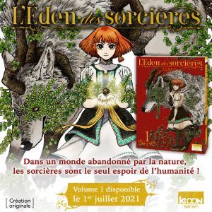 L'Eden Des Sorcières Manga