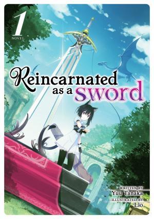 Reincarnated as a sword Light novel