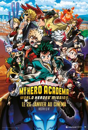 My Hero Academia : World Heroes Mission