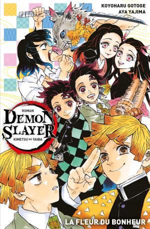 couverture, jaquette Demon Slayer - La fleur du bonheur 1  (Panini manga)