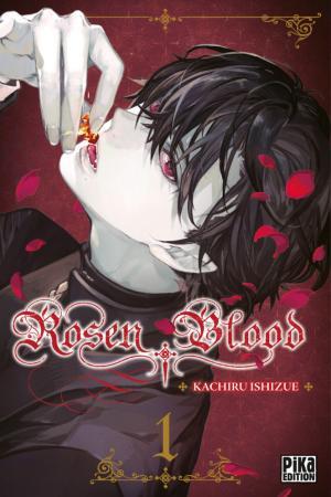 couverture, jaquette Rosen Blood 1  (Pika)