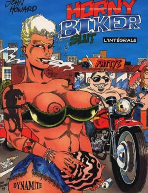 Horny biker slut