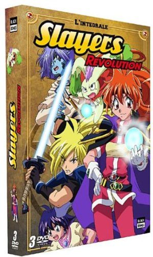 Slayers Revolution Série TV animée