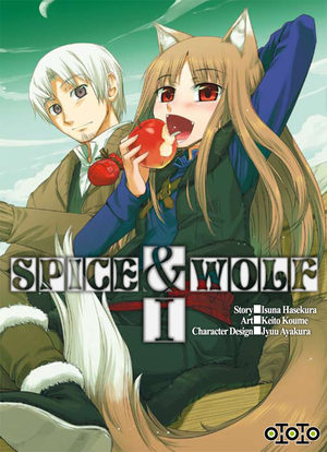 Spice and Wolf Manga
