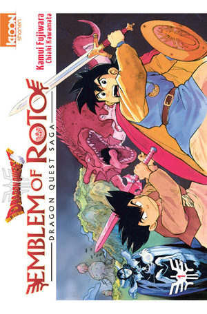 Dragon Quest - Emblem of Roto Manga