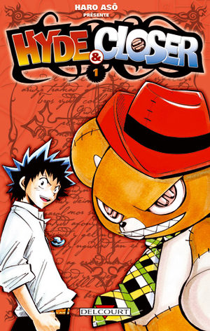 couverture, jaquette Hyde and Closer 5  (Delcourt Manga)