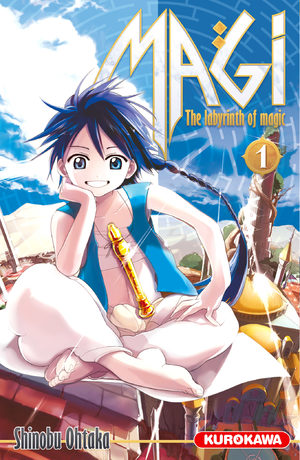 Magi - The Labyrinth of Magic Manga