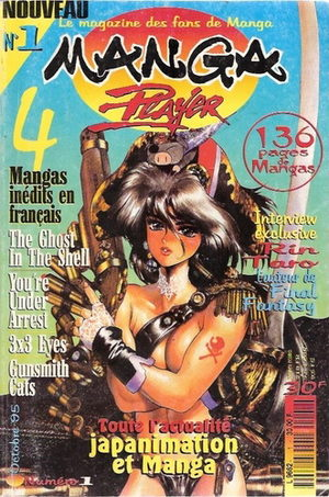 Manga Player Magazine de prépublication