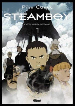 Steamboy Anime comics