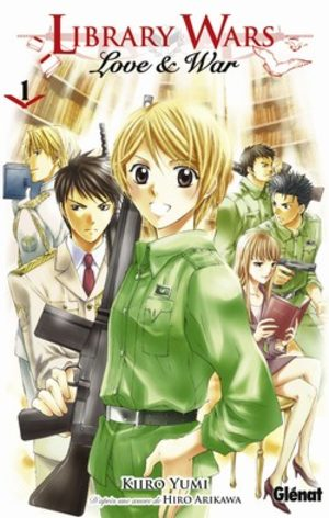 Library Wars - Love and War Manga