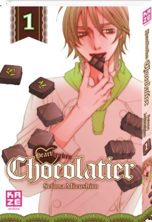 Heartbroken Chocolatier Manga