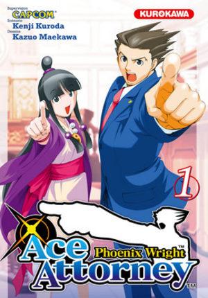 Ace Attorney Phoenix Wright Manga