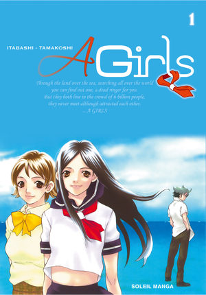 A girls Manga