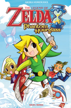 The Legend of Zelda: Phantom Hourglass Manga