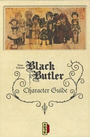 Black Butler - Character guide Artbook