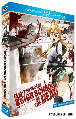 Highschool of the Dead Série TV animée