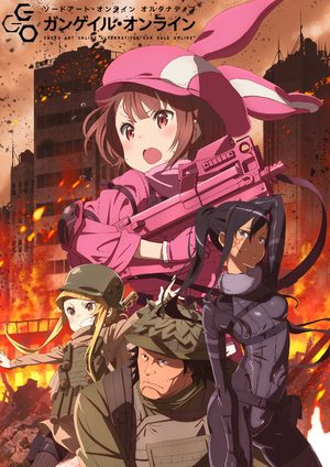 Sword Art Online: Alternative Gun Gale Online Série TV animée