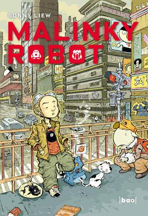 Malinky Robot Global manga