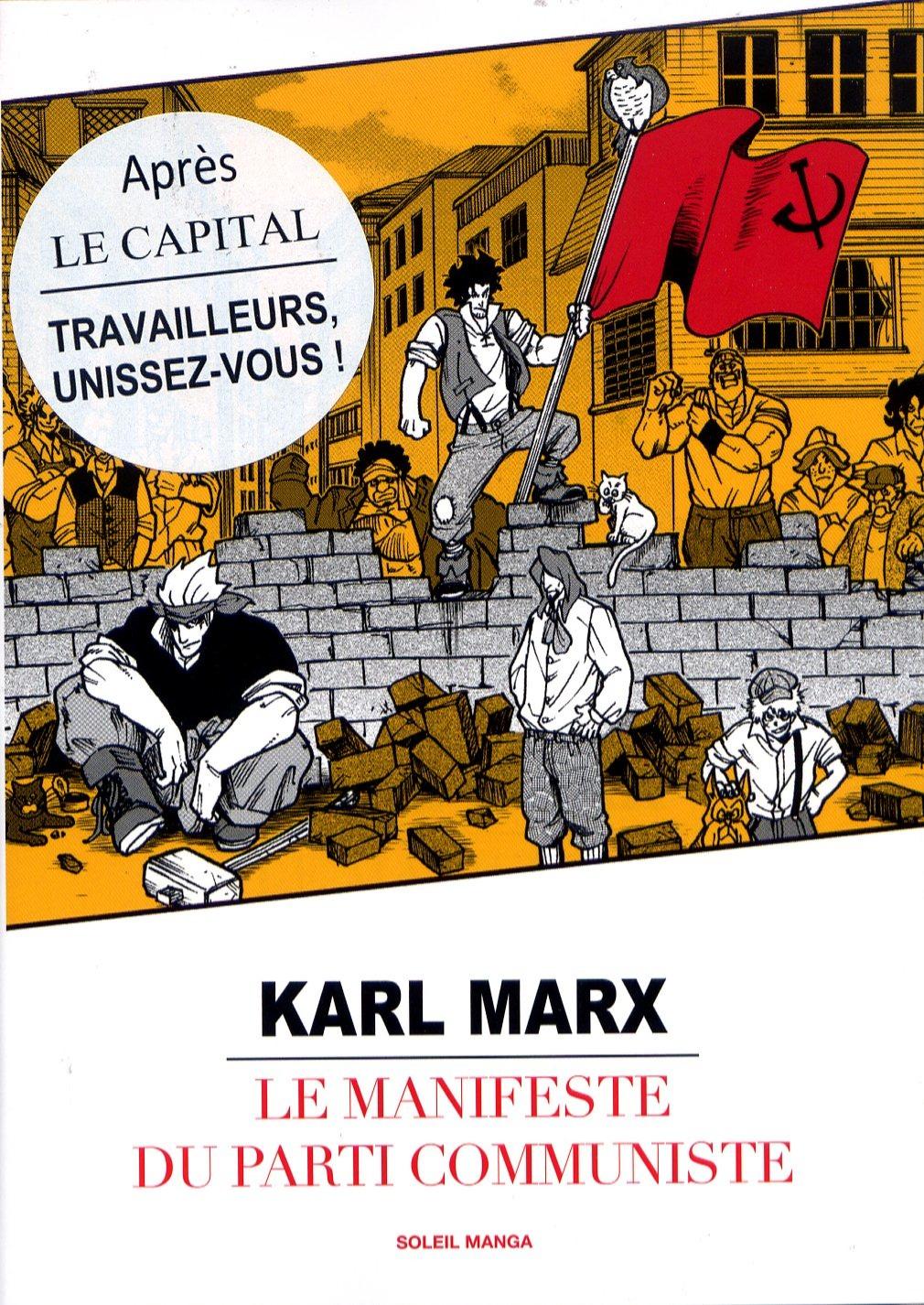 Le Manifeste du Parti Communiste Manga