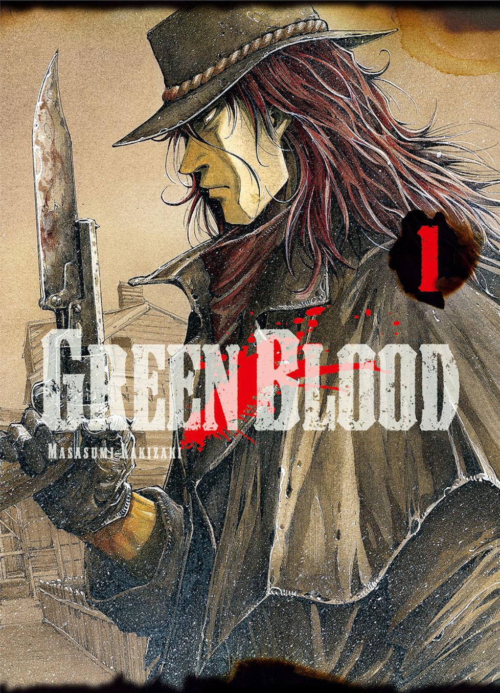 Green Blood Manga