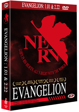 Evangelion NERV - 1.01 et 2.22
