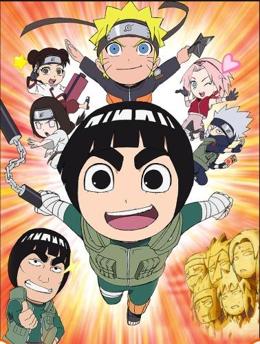 Naruto SD – Rock Lee les péripéties d'un ninja en herbe
