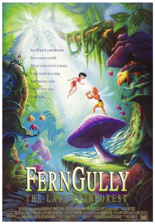 Les Aventures de Zak et Crysta dans la forêt de Ferngully
