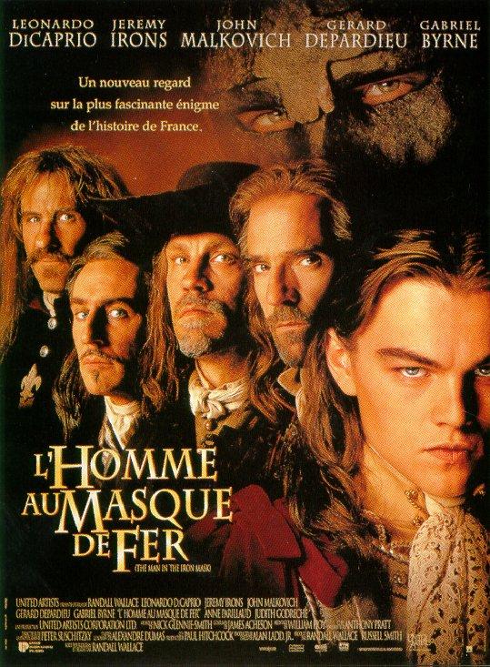 L'Homme au masque de fer (1998)