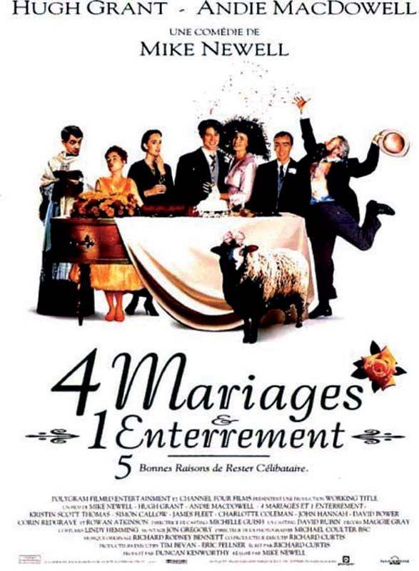 4 mariages et 1 enterrement