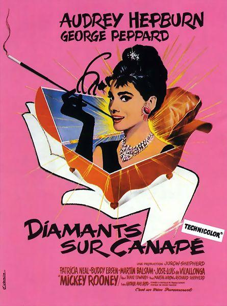 Diamants sur canapé