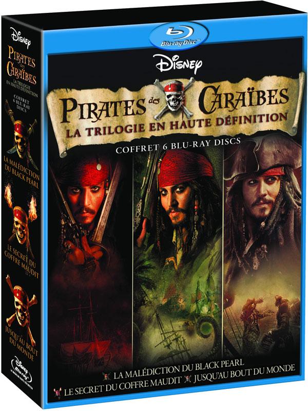 Pirates des Caraïbes : la trilogie en haute définition