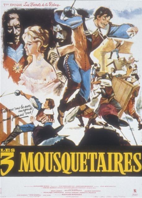Les Trois Mousquetaires: Les ferrets de la reine