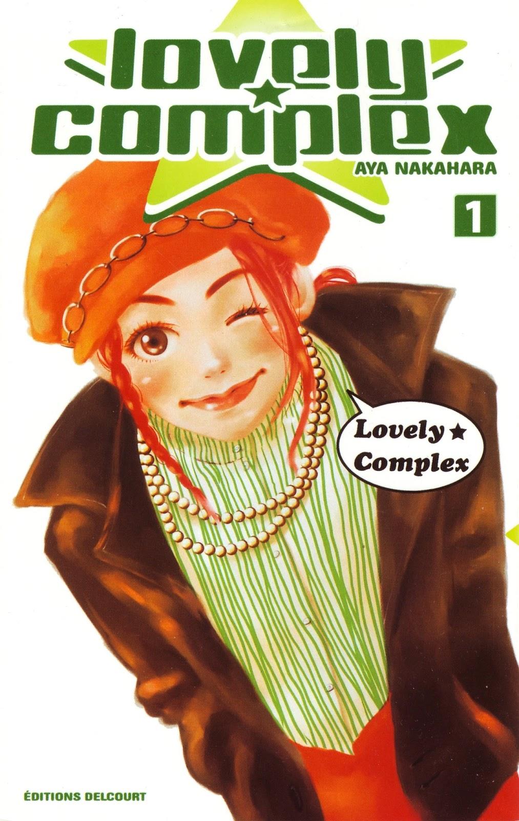 Lovely Complex  Manga