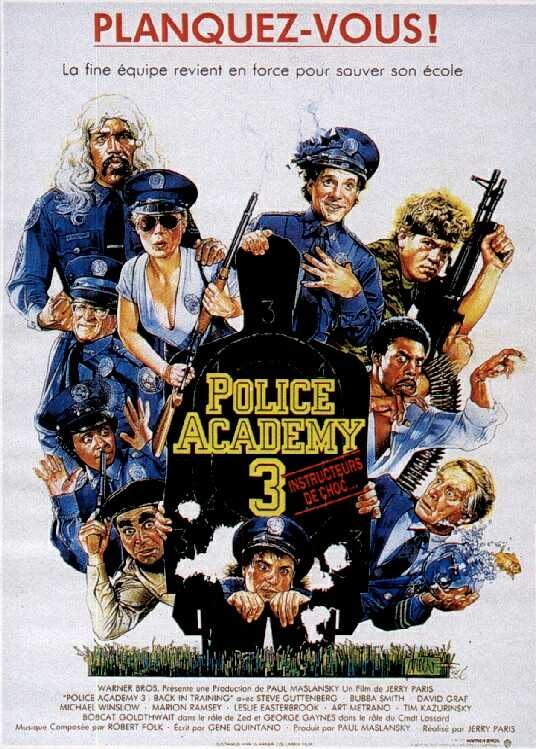 Police Academy 3 : Back in Training