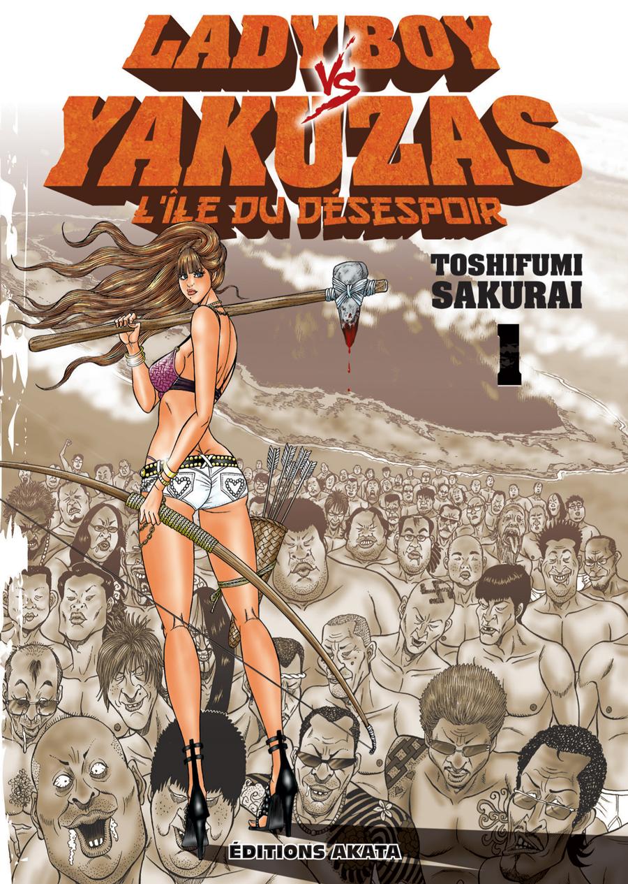 Ladyboy vs. yakuzas Manga