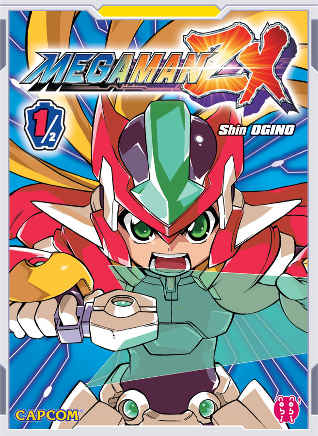 Megaman ZX Manga