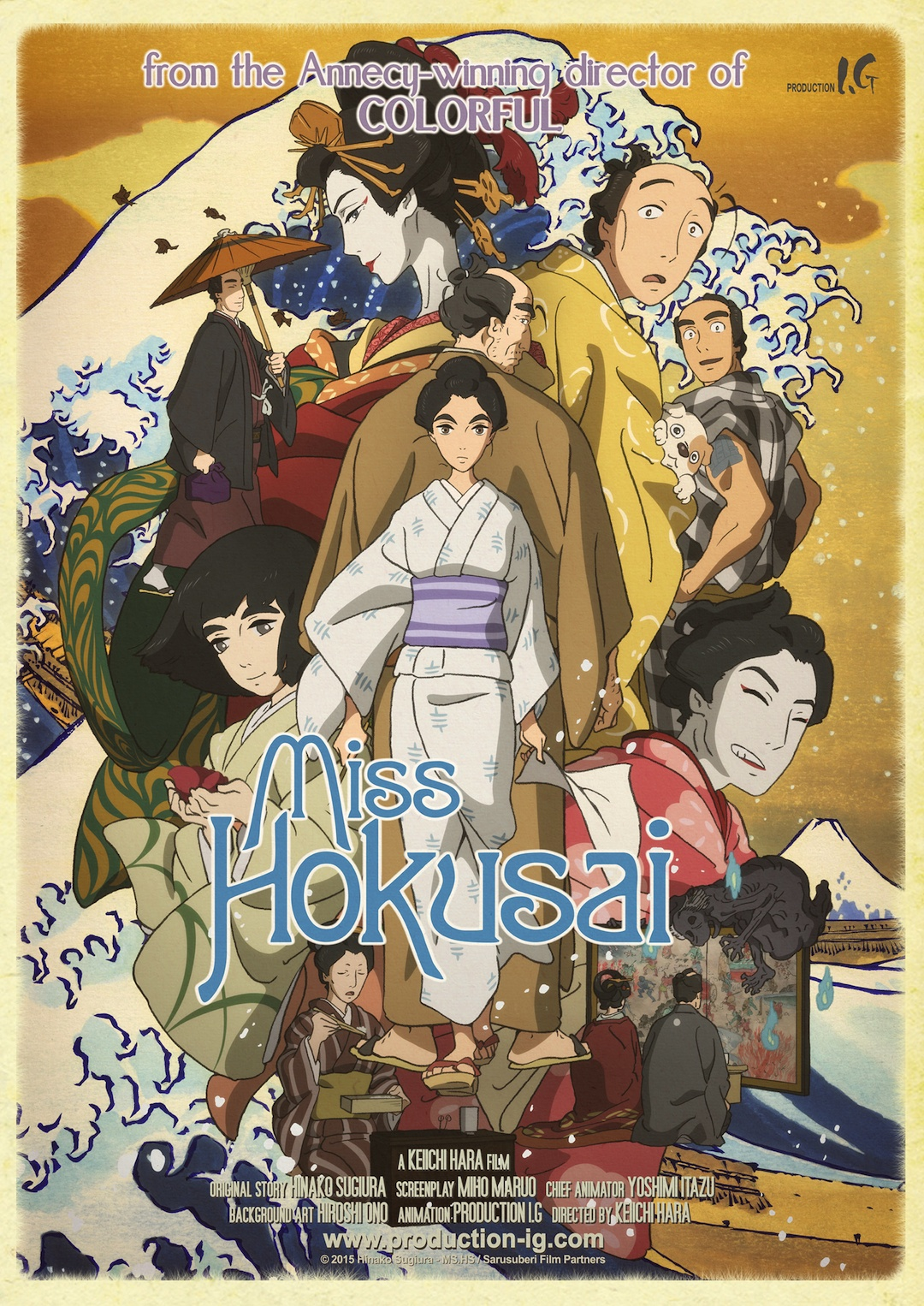Miss Hokusai Film
