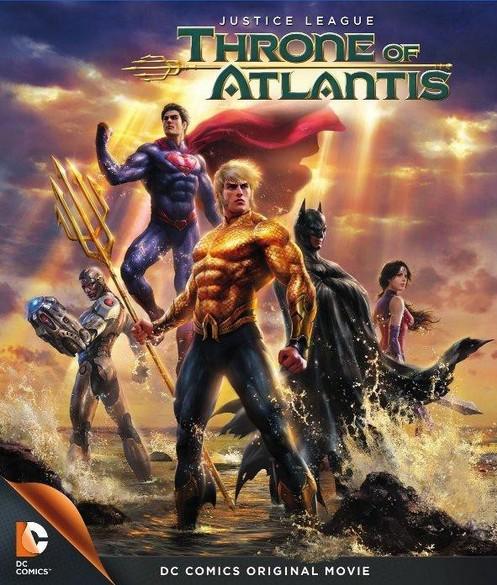 La Ligue des justiciers : Le Trône de l'Atlantide