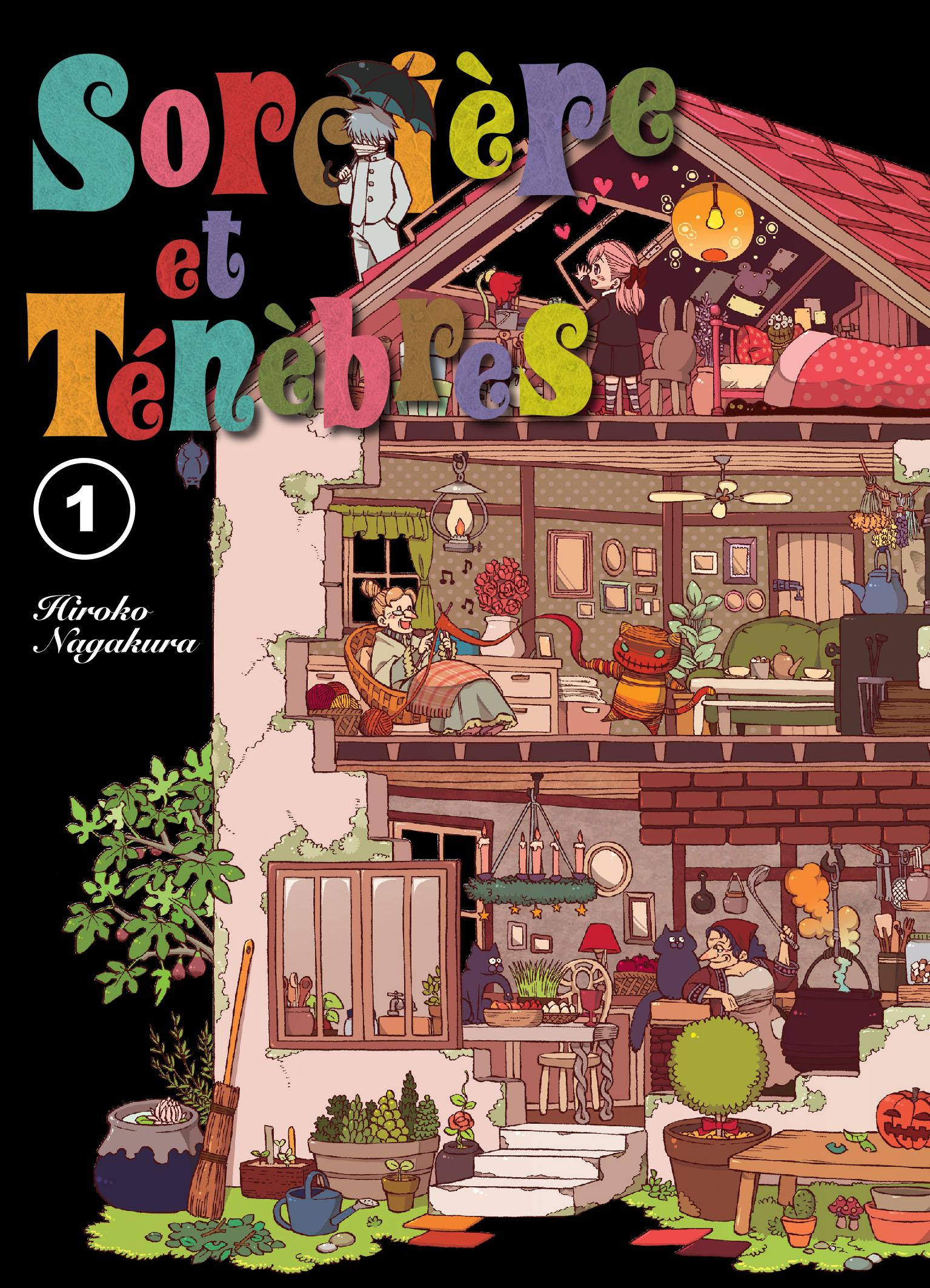 Sorcière et ténèbres Manga