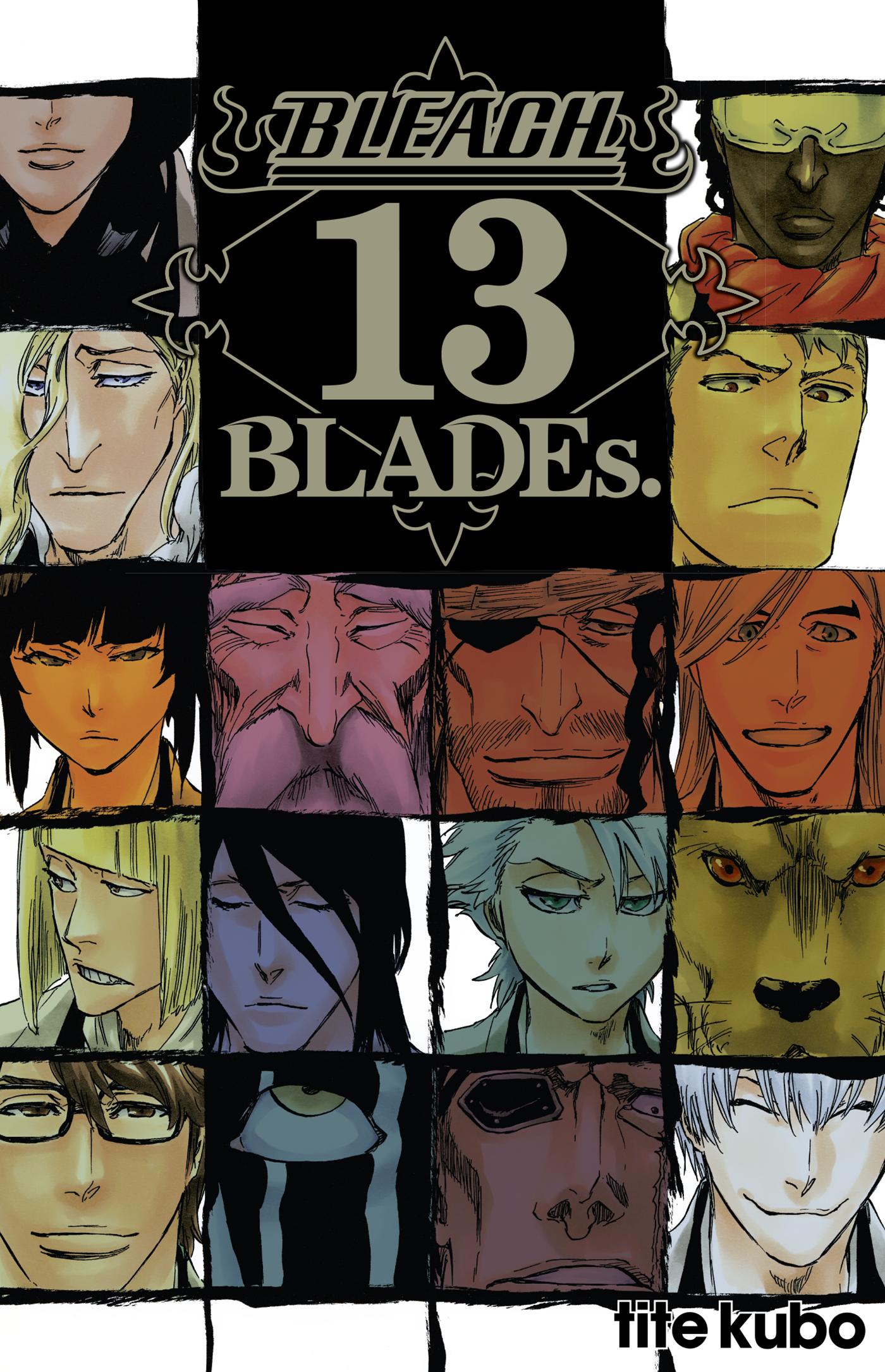 Bleach 13 BLADEs Fanbook