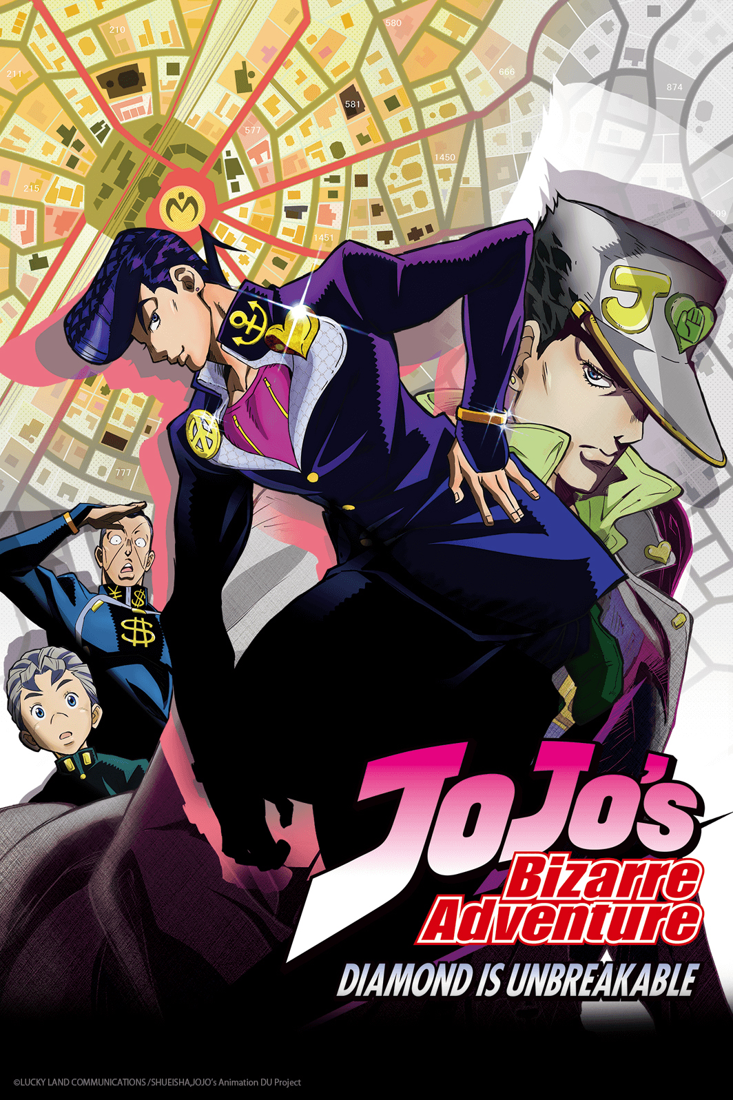Jojo's Bizarre Adventure - Diamond is unbreakable
