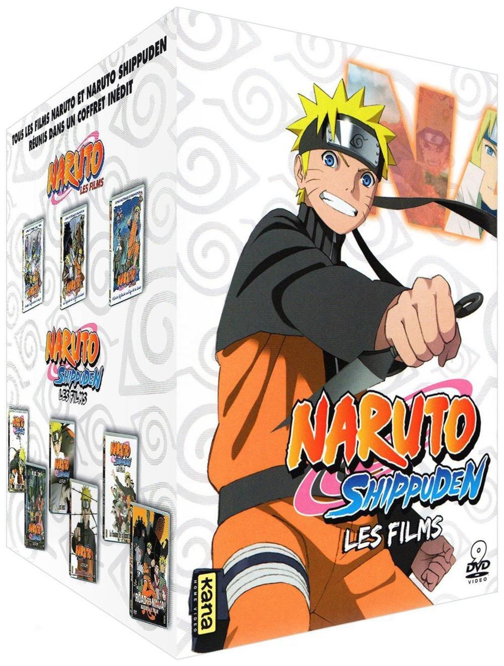 Naruto & Naruto Shippuden - Les 9 films