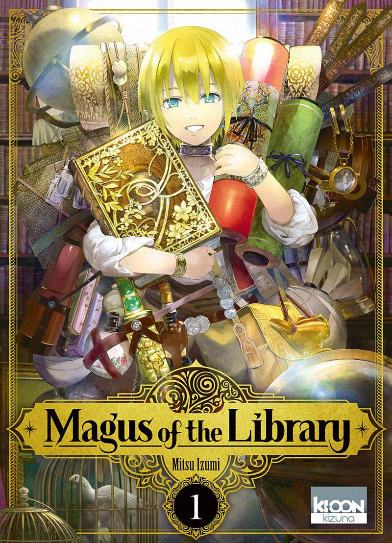 Magus of the Library Manga