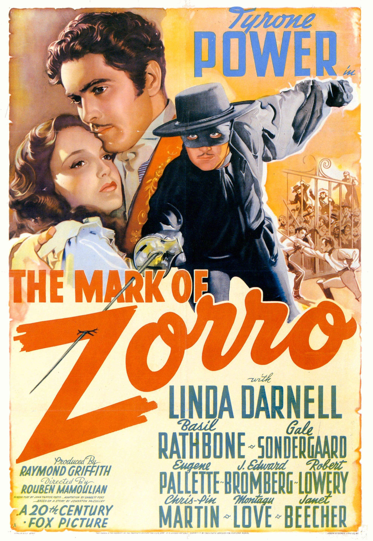 Le Signe de Zorro (1940)
