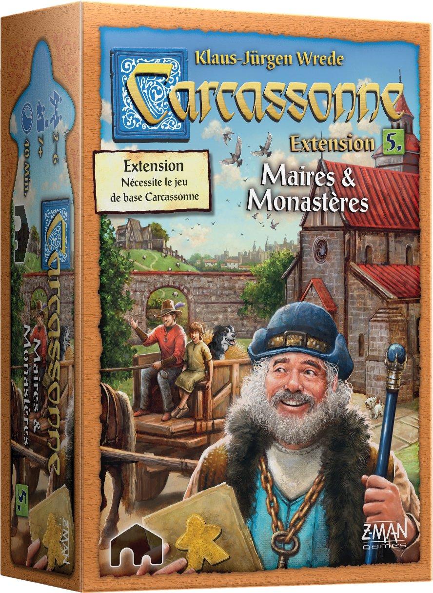 Carcassonne : Maire & Monastères