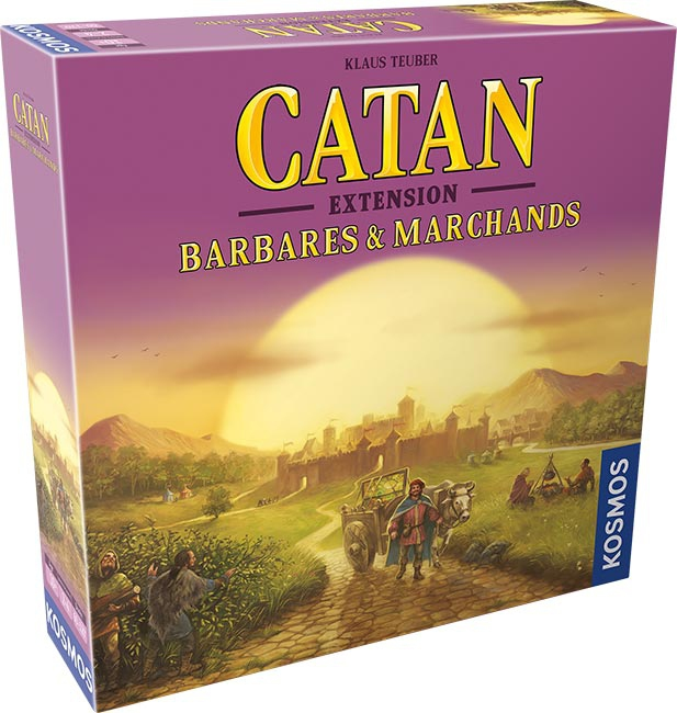 Catan : Barbares & Marchands