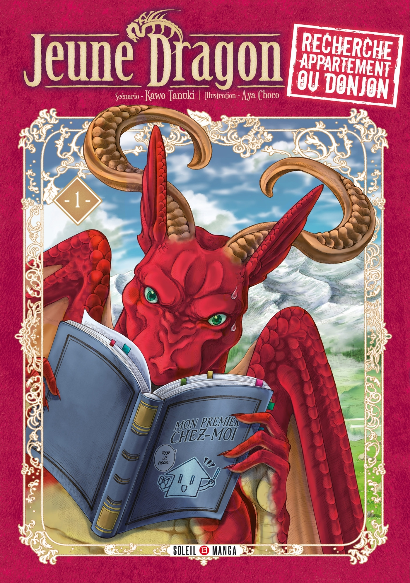 Jeune Dragon recherche appartement ou donjon Manga