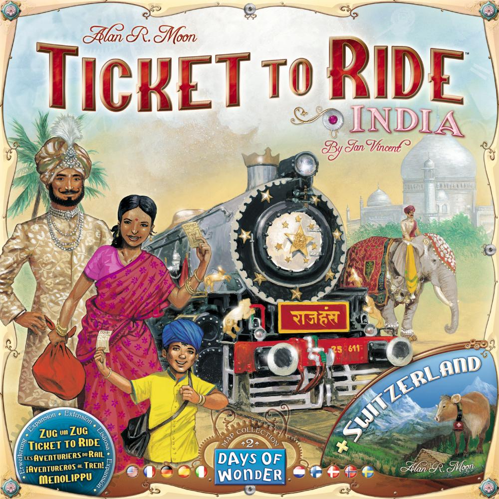 Les Aventuriers du rail : Inde