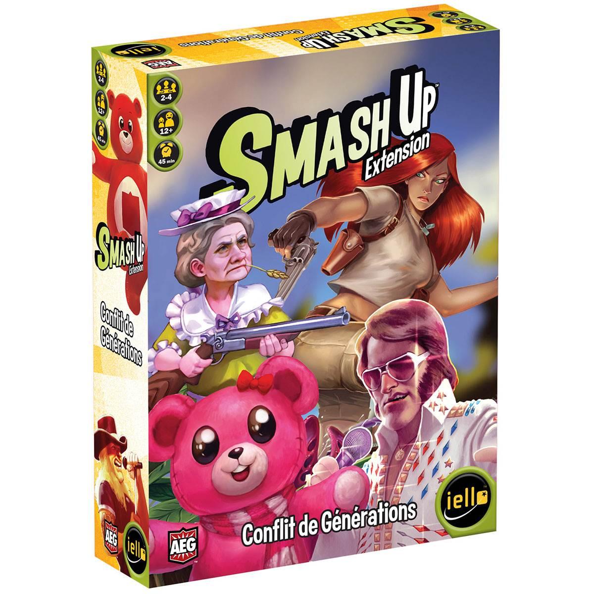 Smash Up : Conflit de générations
