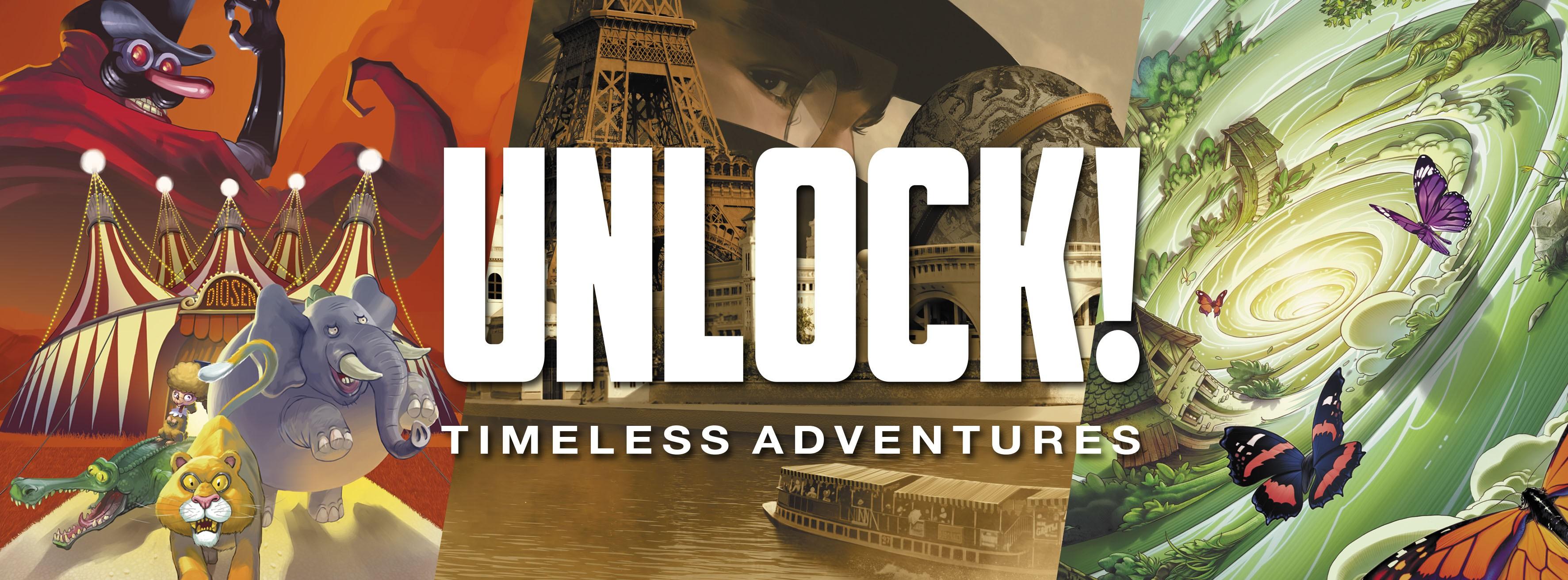 Unlock : Timeless Adventures